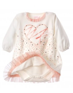 Babydress with Heartprint