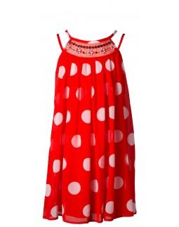 Girls Dress Polka Dots