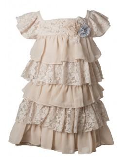 Event Dress Lace Chiffon