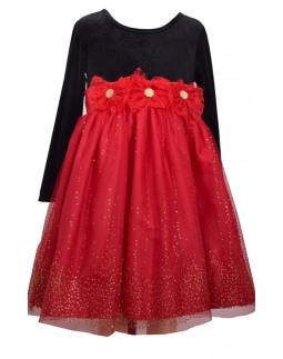 Event Dress Red Glitter