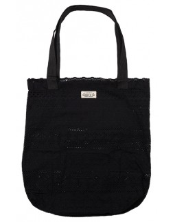 Tote Bag Black Cotton