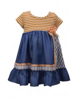 Chambray Girls Dress