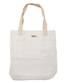 Tote Bag White Cotton