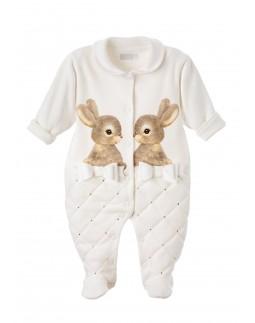 Babygrow Bunny Print