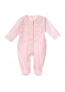 Cotton Romper pink