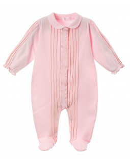 Stylish Babygrow in pink