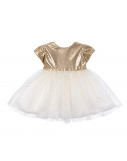 Babydress golden color