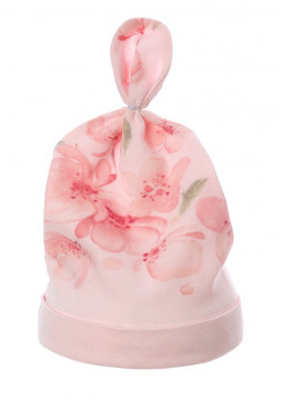 Babyhat with Flowerprint