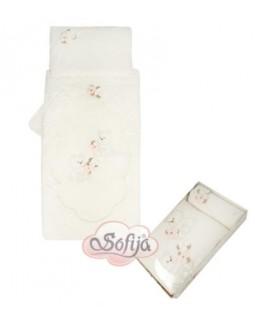 5pc. Bedding Set Blumenbär