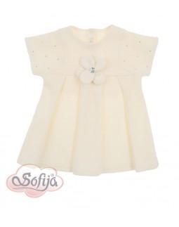 Baby Dress Ivory