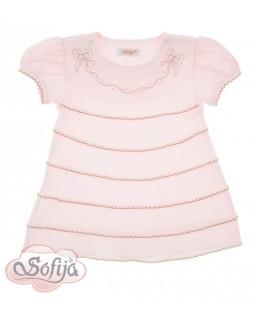 Baumwollkleid Pale Pink