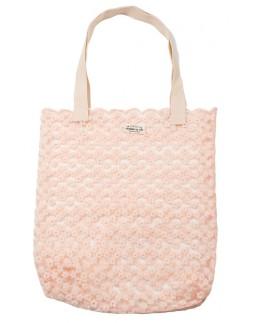 Tote Bag Lace Rose