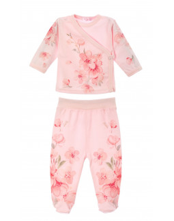 2pc. Set with Flower Print